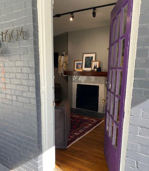 John H. Daniel Nashville Tennessee Interior Custom Clothiers Front Door